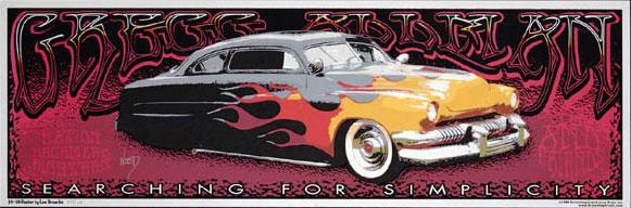 Jeff Wood - Low Brow Ink Gregg Allman Poster