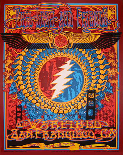Richard Biffle Phil Lesh and Friends Poster