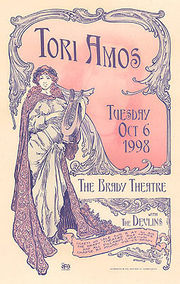 David Dean Tori Amos Poster