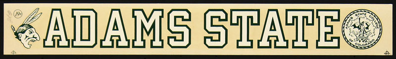 Adams State College Decal