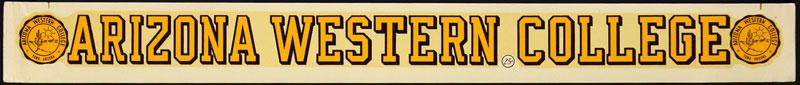 Arizona Western College Matadors Decal