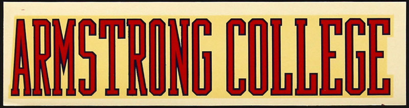 Armstrong State College Decal