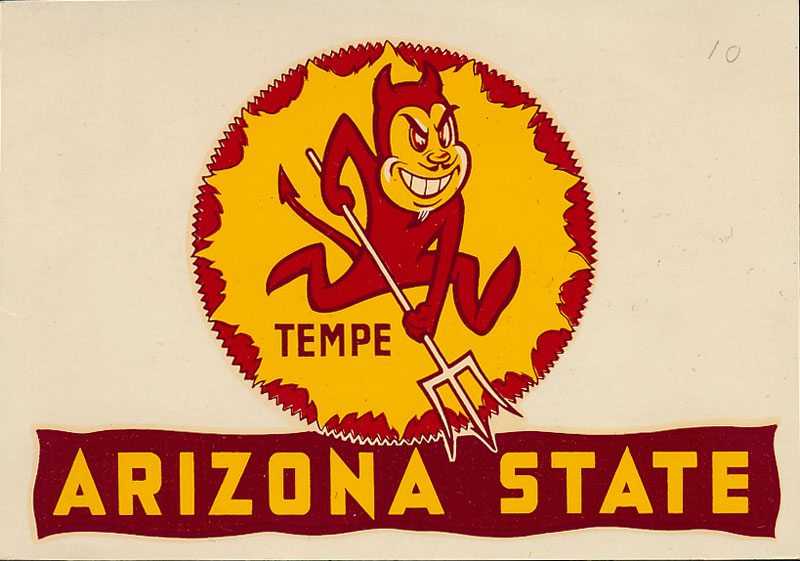 Arizona State College Decal