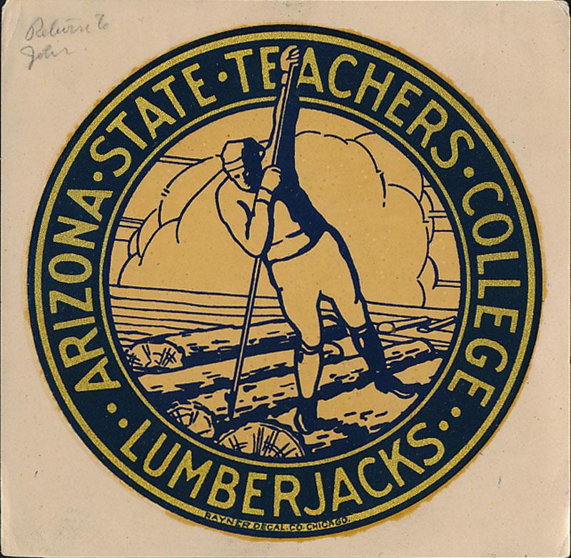 Arizona State Teachers College at Flagstaff Lumberjacks Decal