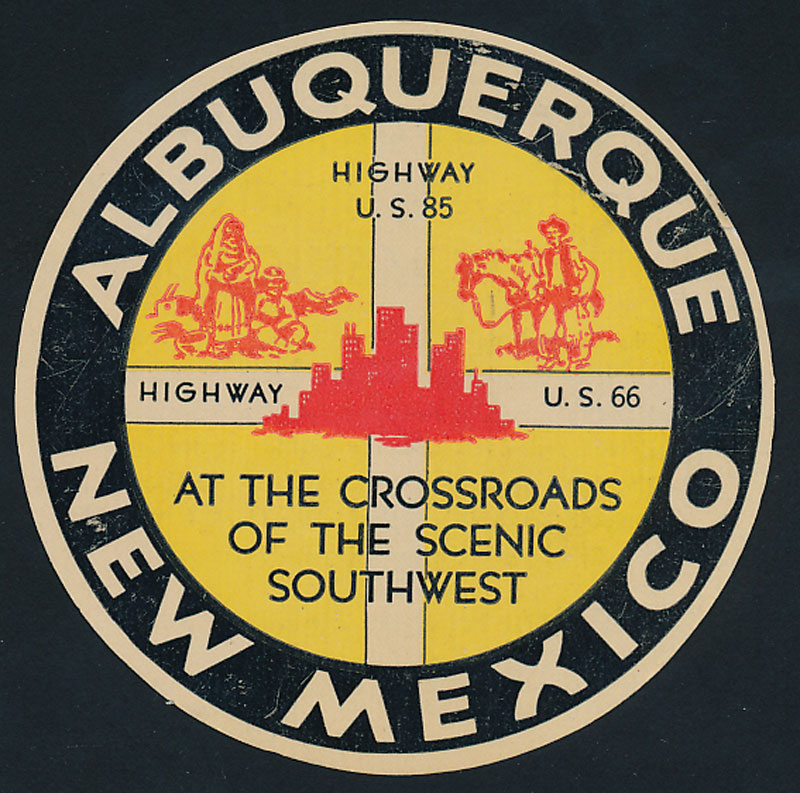 Albuquerque New Mexico Decal