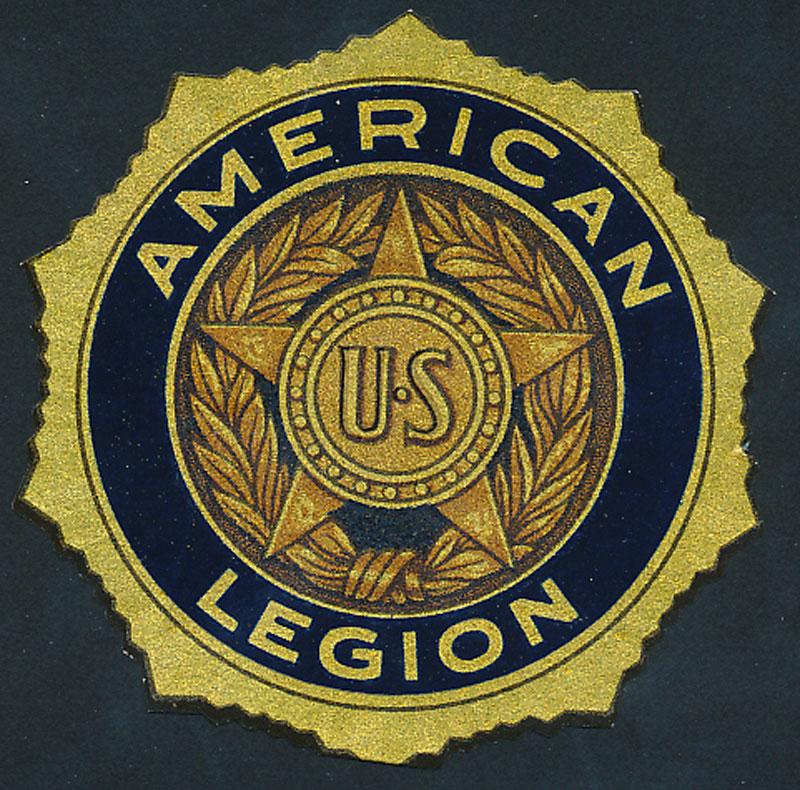 American Legion Seal Decal