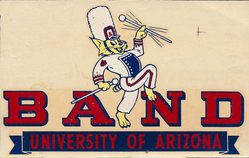 University of Arizona Band Decal