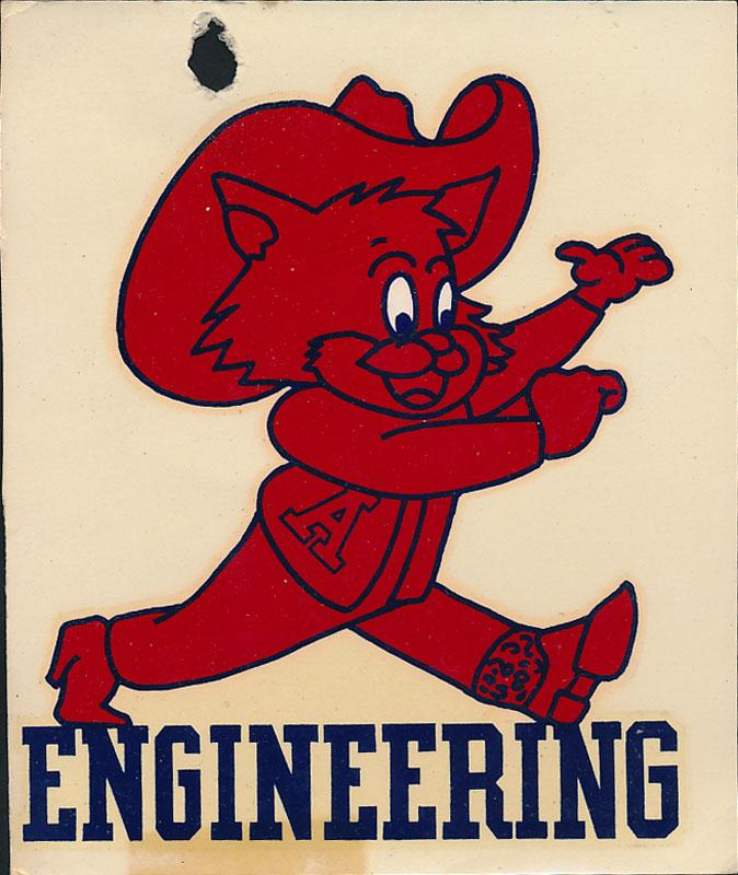 University of Arizona Engineering Decal