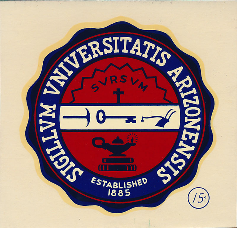 University of Arizona Seal Decal