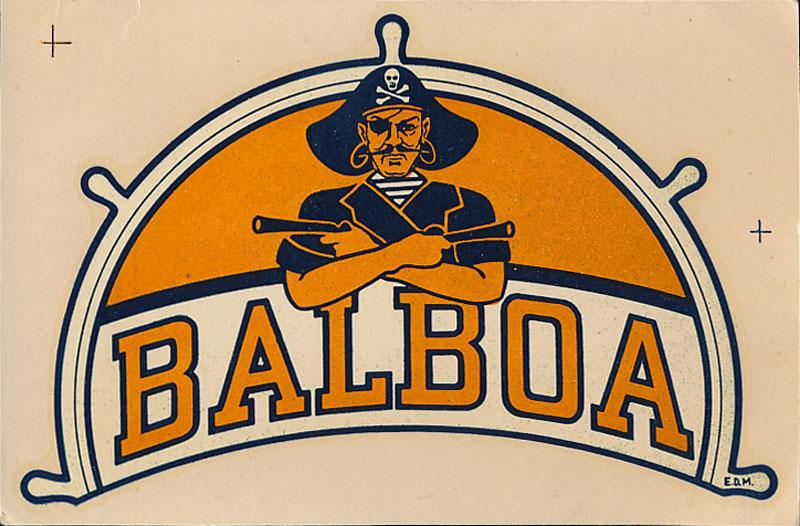 Balboa High School Decal