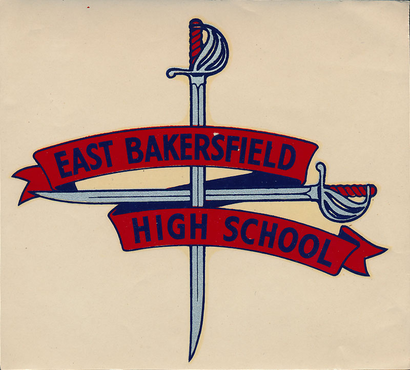 East Bakersfield High Blades Decal