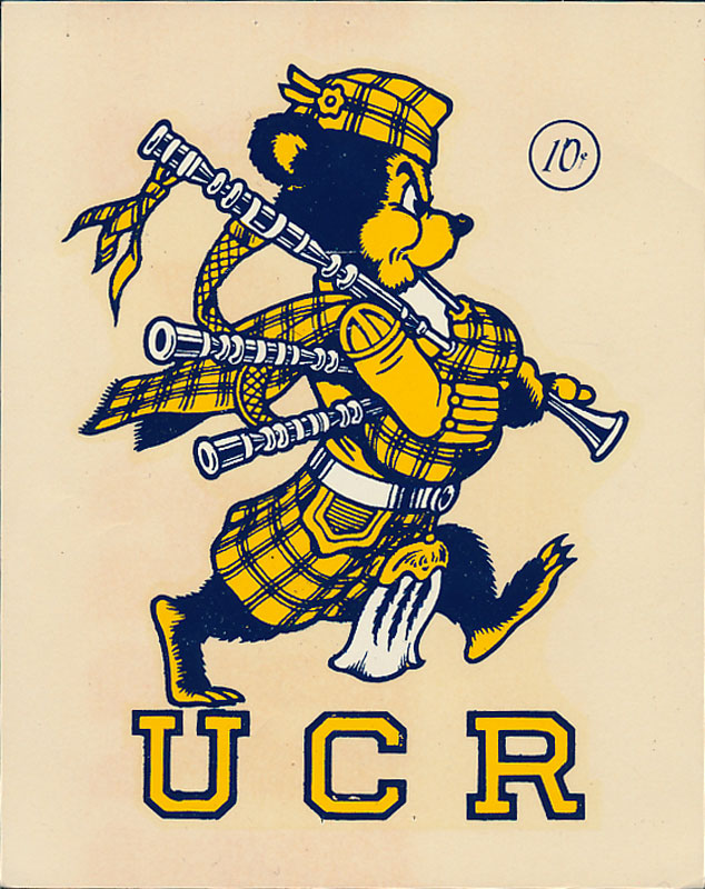 University of California Riverside Highlanders Decal