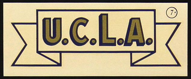 University of California Los Angeles Decal