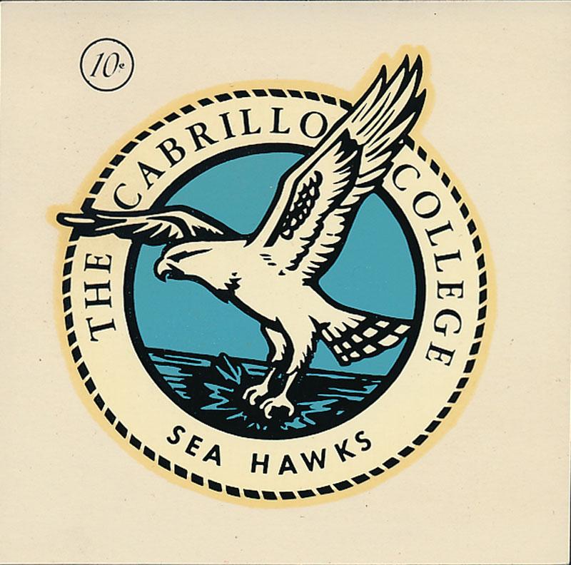 Cabrillo College Sea Hawks Decal
