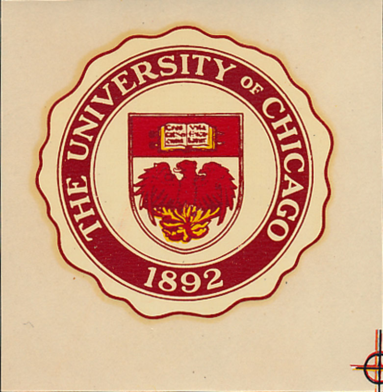 University of Chicago Seal Decal