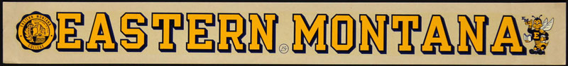 Eastern Montana College Decal