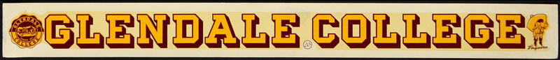 Glendale College Decal