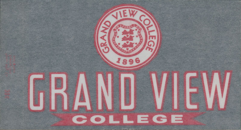 Grand View College Vikings Decal