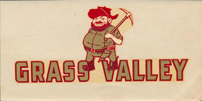 Grass Valley High School Miners Decal