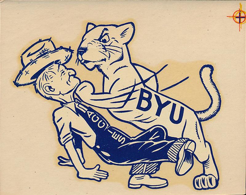 BYU vs Utah State Game Decal