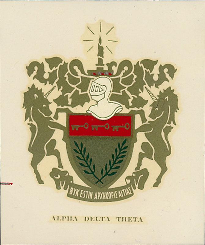 Alpha Delta Theta Decal