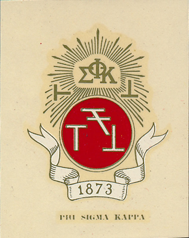 Phi Sigma Kappa Decal
