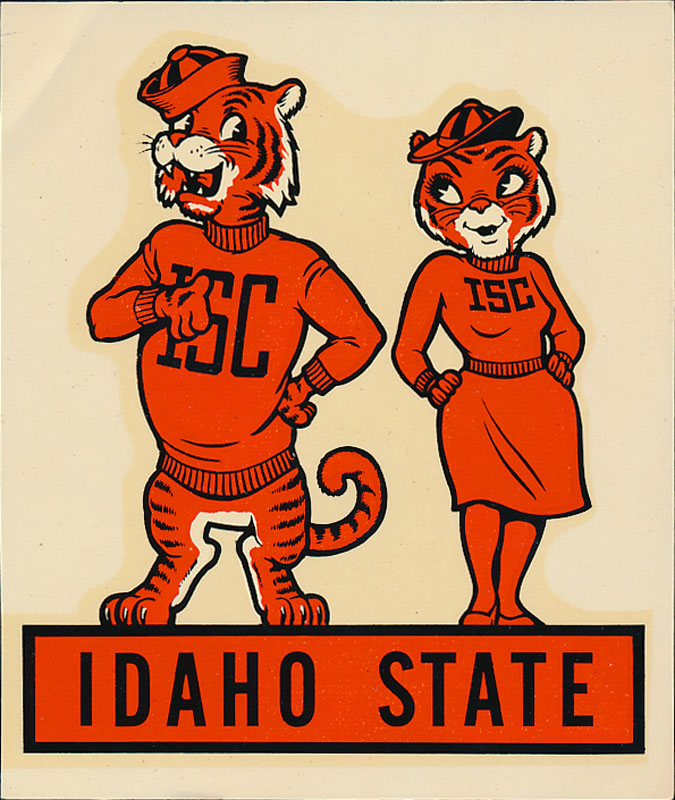 Idaho State College Decal