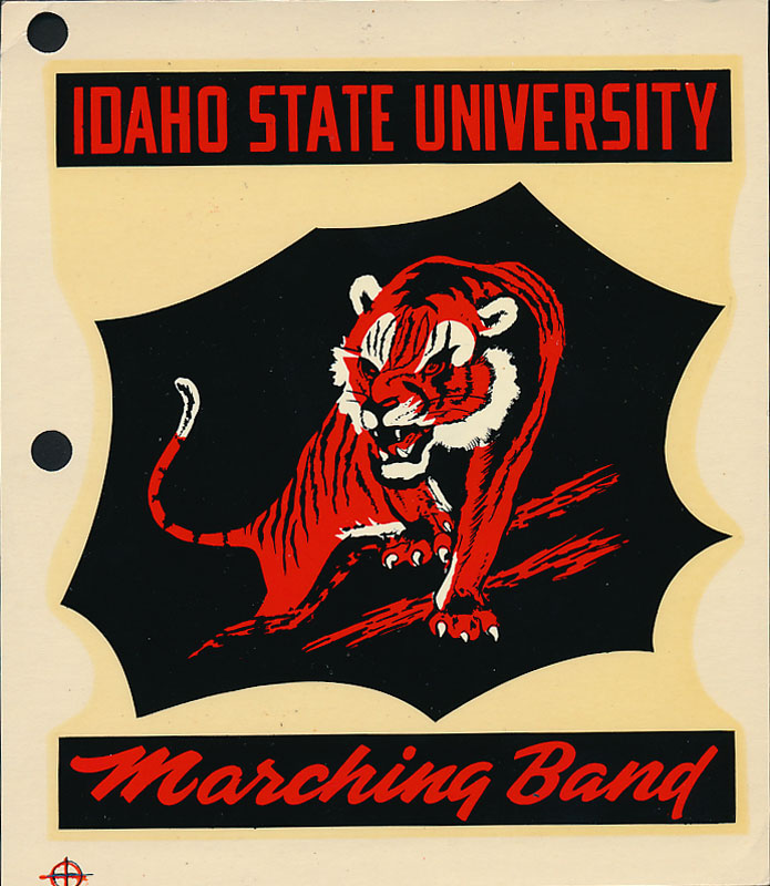 Idaho State University Bengals Marching Band Decal