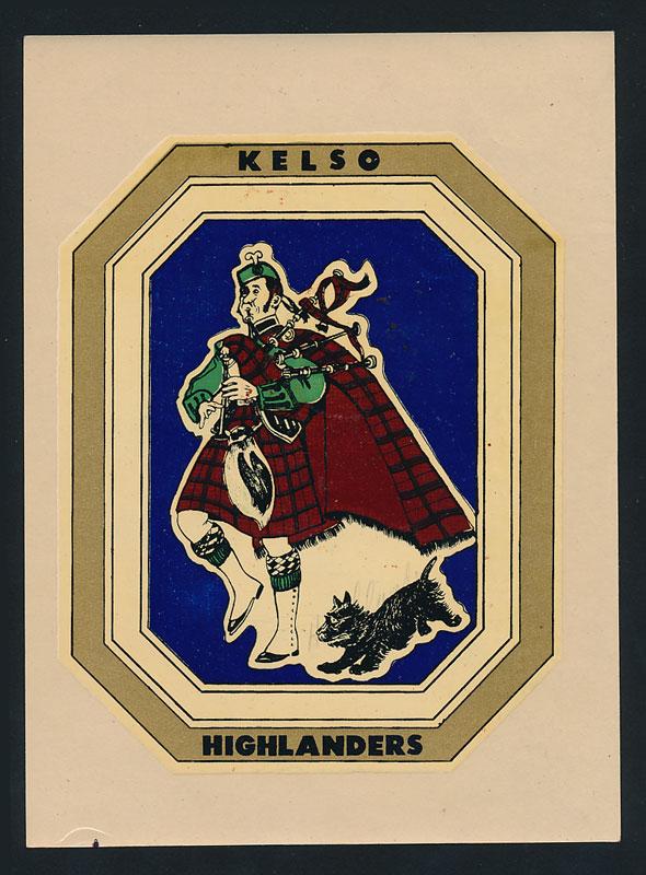 Kelso High School Highlanders Decal