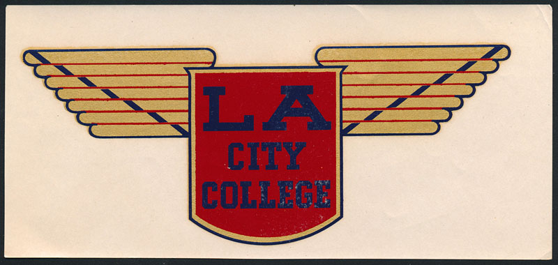 Los Angeles City College Cubs Decal
