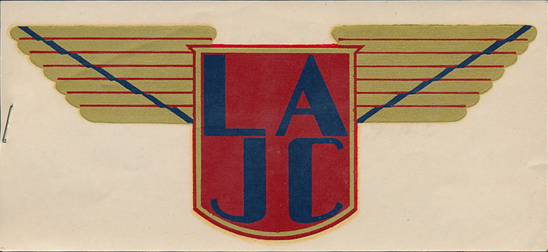 Los Angeles Junior College Cubs Decal