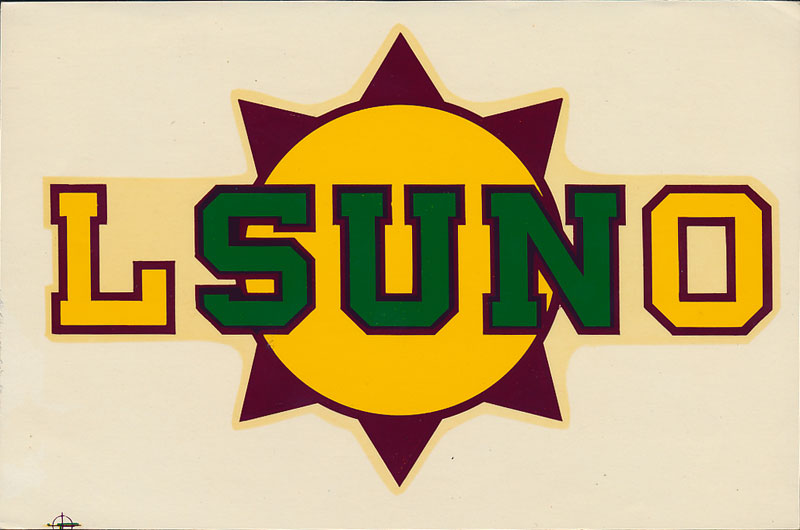 Louisiana State University in New Orleans (LSUNO) Decal