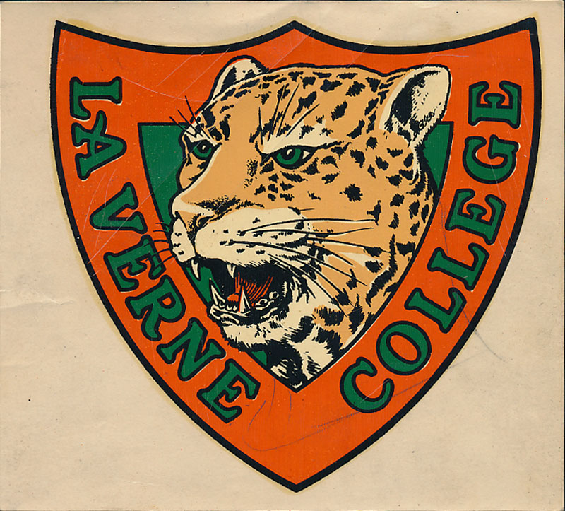 La Verne College Leopards Decal