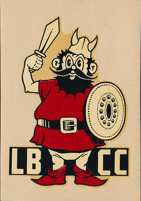 Long Beach City College Vikings Decal