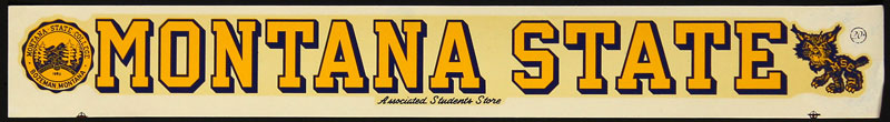Montana State College Decal