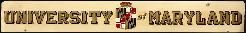 University of Maryland Decal