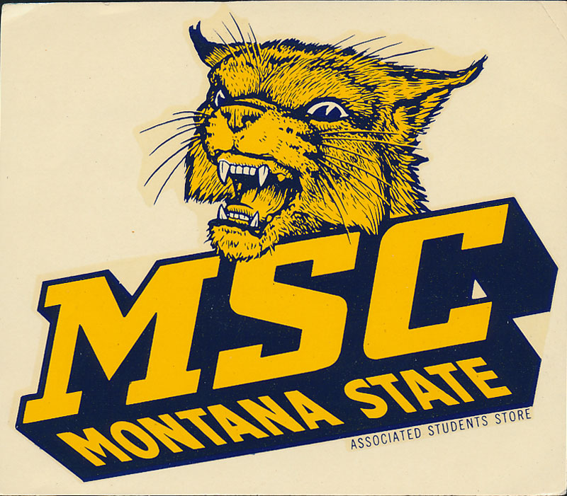 Montana State College Bobcats Decal
