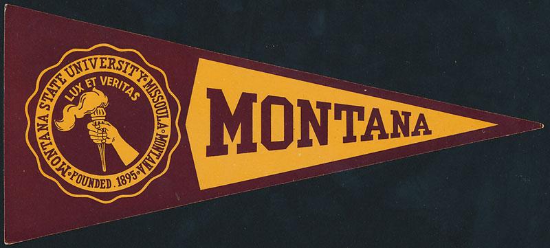 Montana State University Decal