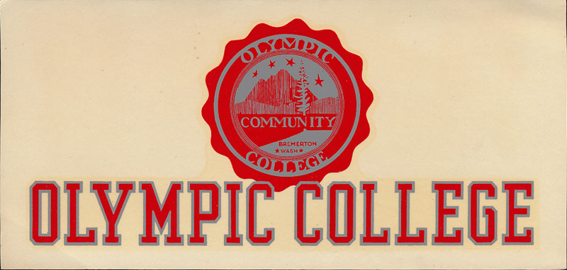Olympic College Decal
