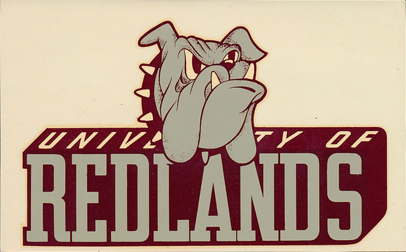 University of Redlands Bulldogs Decal