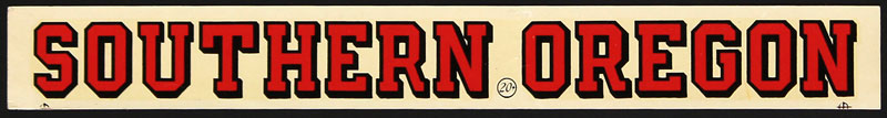 Southern Oregon College Red Raiders Decal