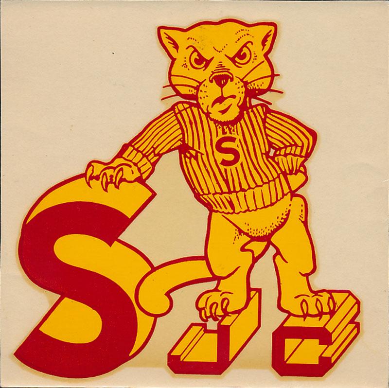 Sacramento Junior College Panthers Decal