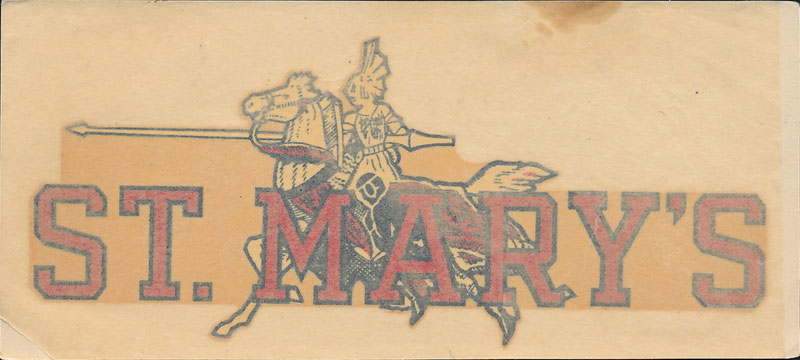 Saint Mary's College Gaels Decal