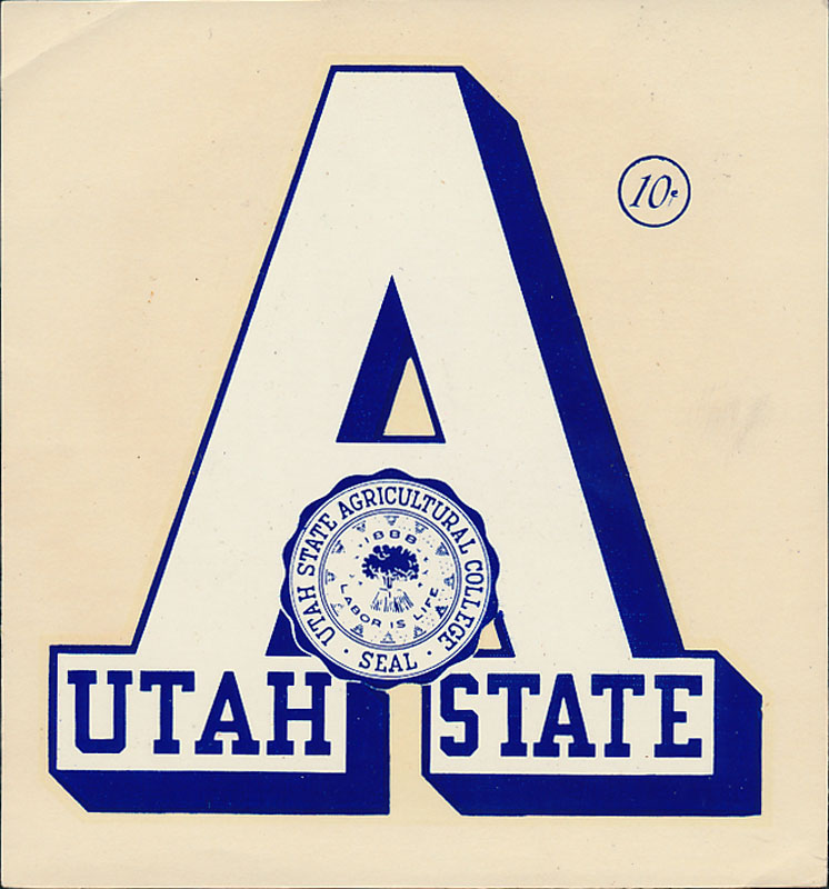 Utah State Agricultural College Decal