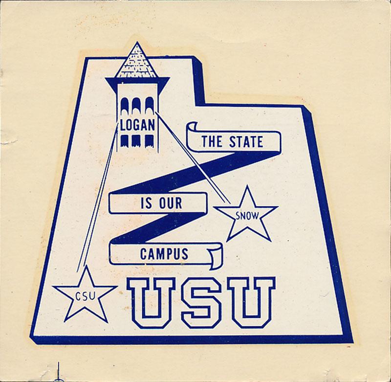 Utah State University Decal