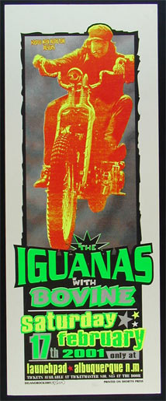Delano Rock Iguanas Poster