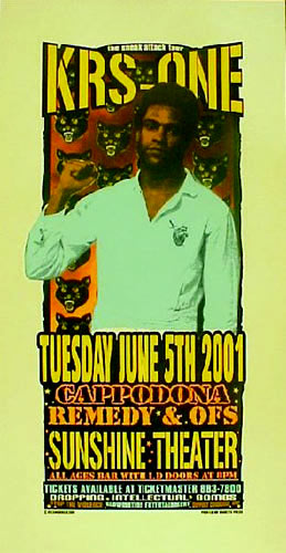 Delano Rock KRS-One Poster