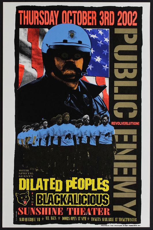 Delano Rock Public Enemy Poster