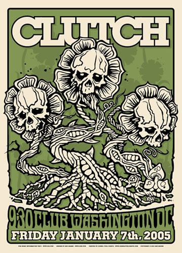 Ken Adams Clutch Poster