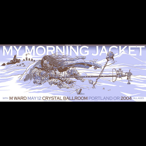 Guy Burwell My Morning Jacket Poster